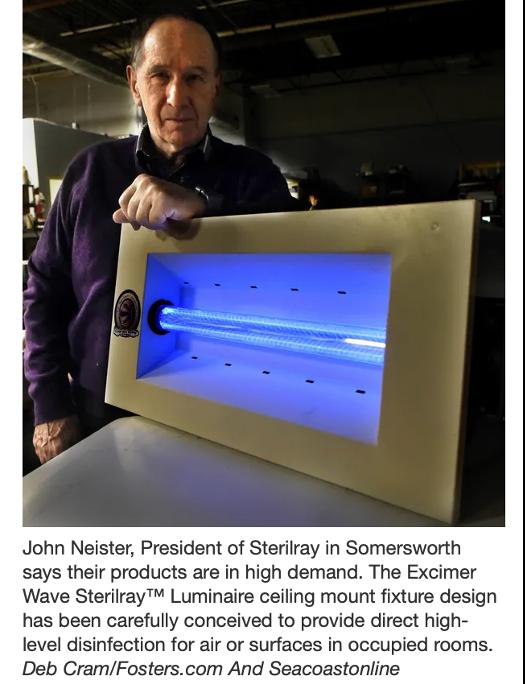President, John Neister