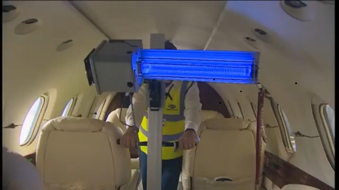 Airline Using Far UV Technology